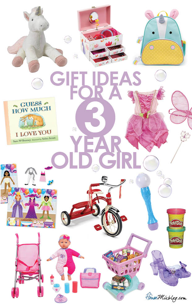 Gift Ideas For A 3 Year Old Girl