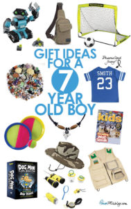 Toys for boys - Present or gift ideas for a 7 year old boy
