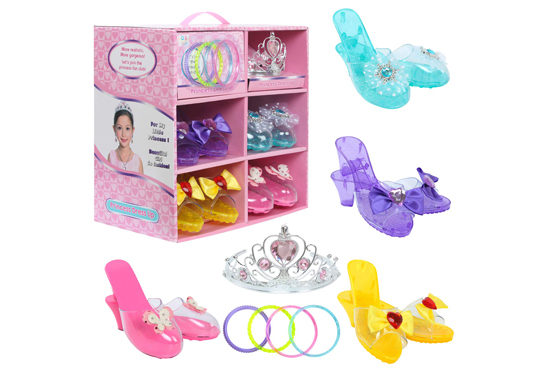 best toddler toys for girls - princess shoes
