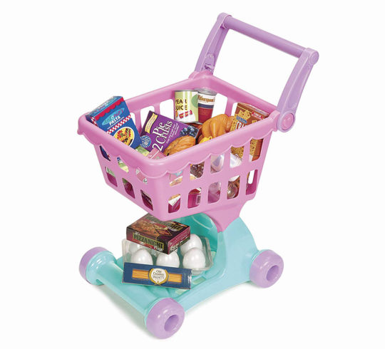 toddler toy gift present ideas - shopping cart