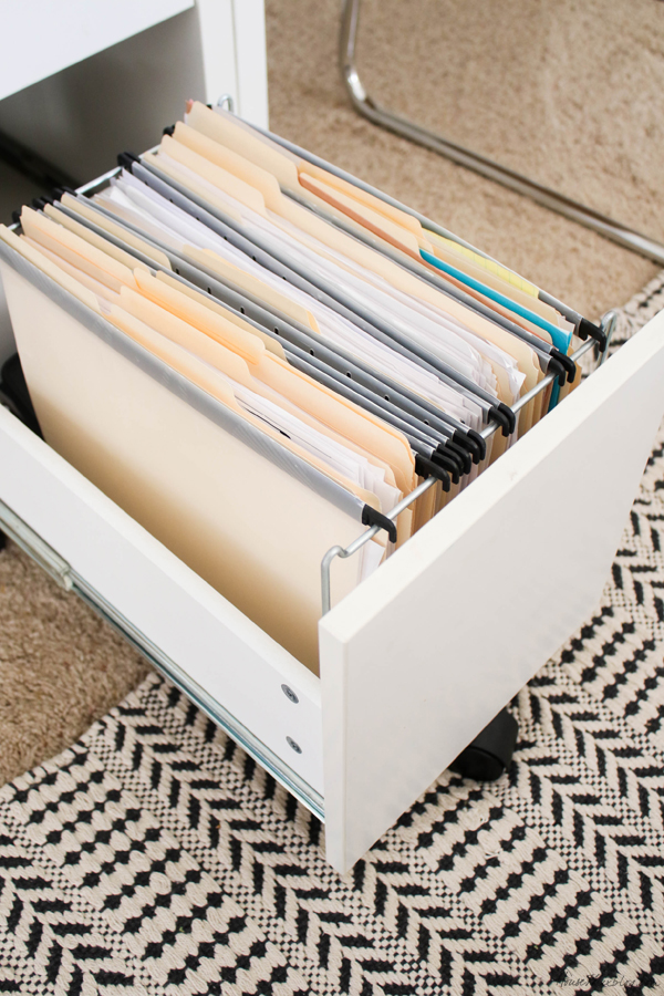 How to organize you home office files