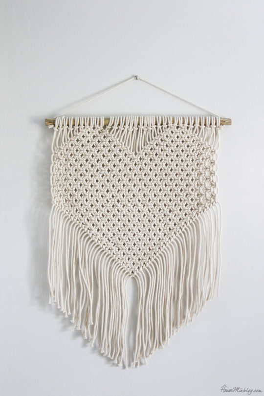 cheap macrame wall hanging from Target