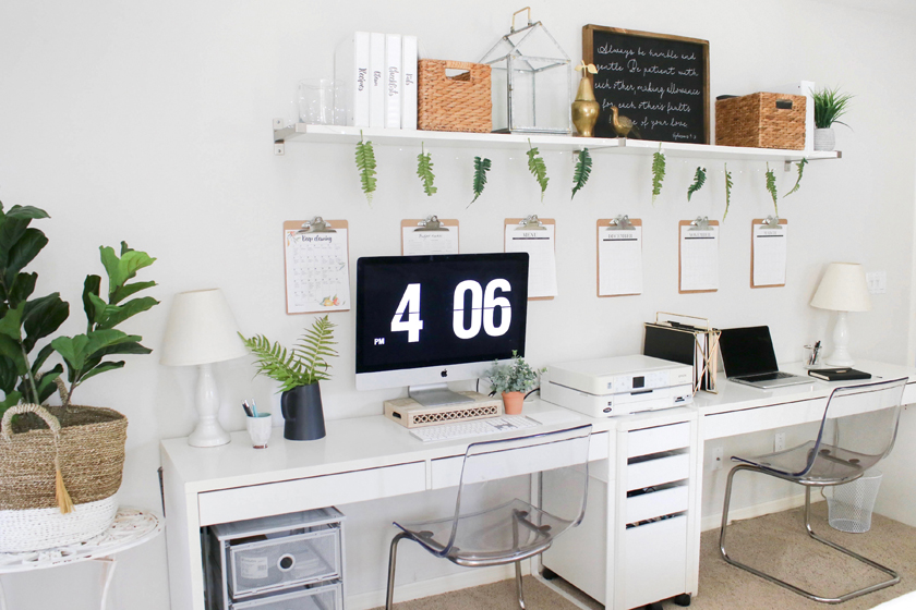 Office Organization Ideas And Minimalist Checklist House Mix