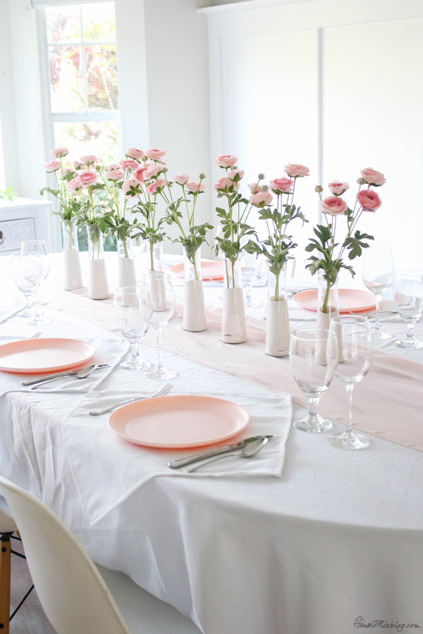 pale pink valentine's day decorations