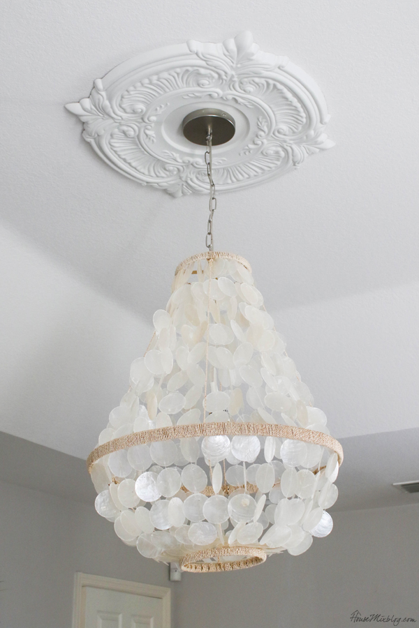 world market capiz pendant light