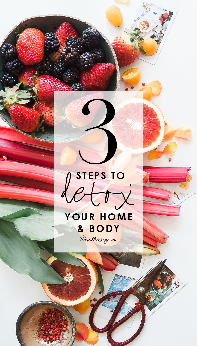 3 steps to detox your home and body - see how exactly toxic your products are