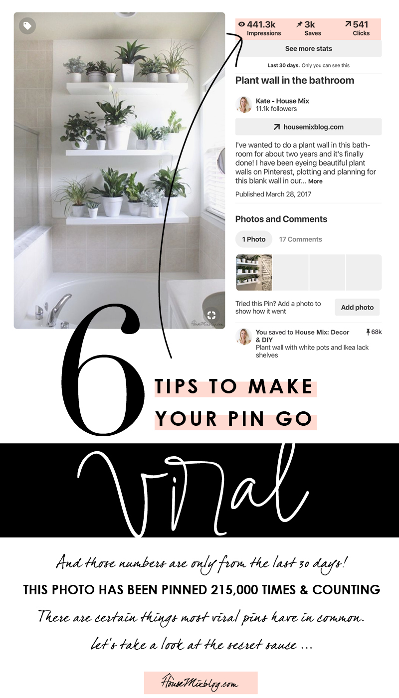 6 tips to make your pin go viral - what most viral pins have in common