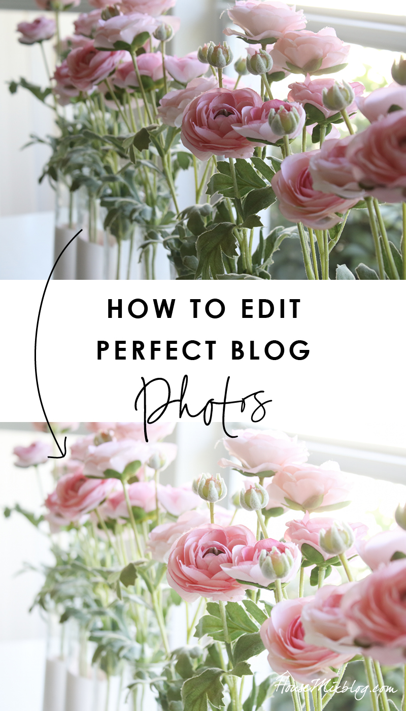 How to edit perfect blog photos