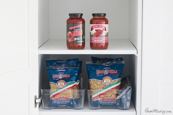 Cheap meal planning and pantry stocking-pasta and pasta sauce