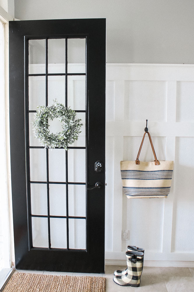 Porch makeover: I painted the walls, doors and floor