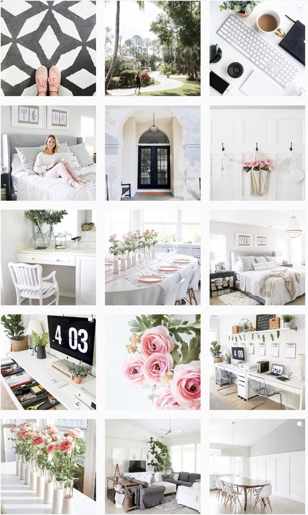 Instagram and blogging housemixblog