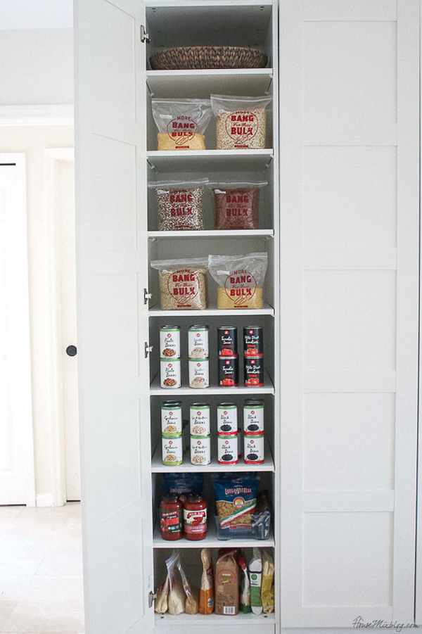 Stocking the pantry for 350 dollars a year with a healthy variety of options
