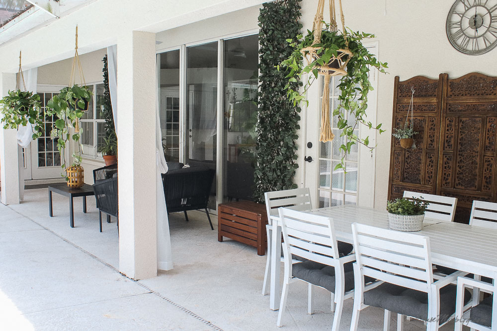 Patio, pool and lanai decor ideas on a budget-outdoor space design and layout