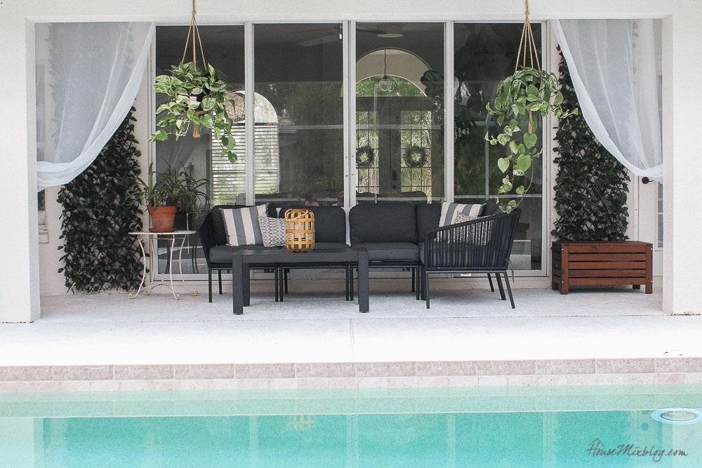 Patio, pool and lanai decor ideas on a budget-pool furniture and decor