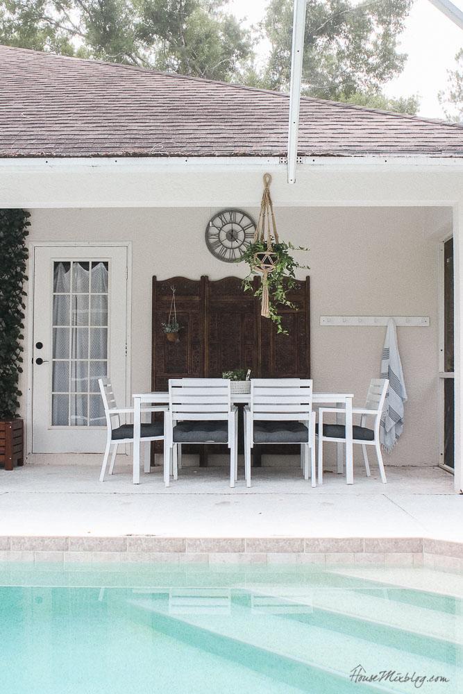 Patio, pool and lanai decor ideas on a budget-pool patio furniture and design