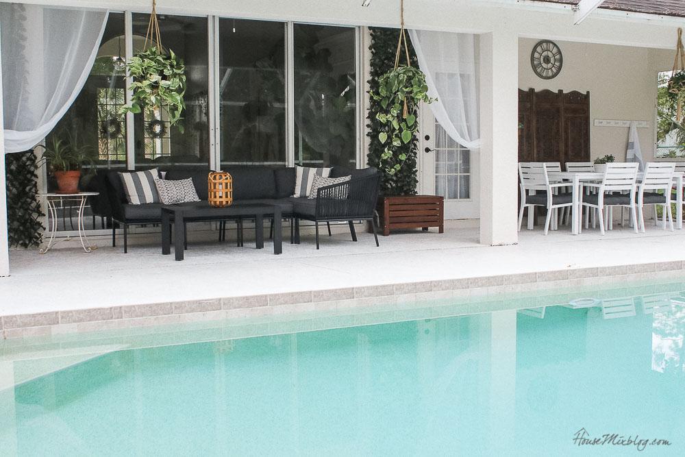 Patio, pool and lanai decor ideas on a budget-poolside design and furniture