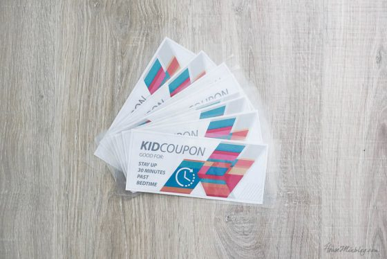 Kid coupons: Free reward ideas