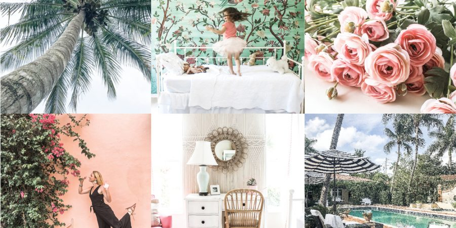 Tropical Sunkiss Mobile Lightroom Presets - Instagram - blue pink and green - House Mix Blog