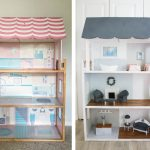 Doll house makeover & DIY Barbie furniture