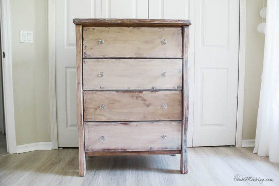 How to strip furniture and apply liming wax
