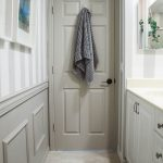 Boy's bathroom paint makeover
