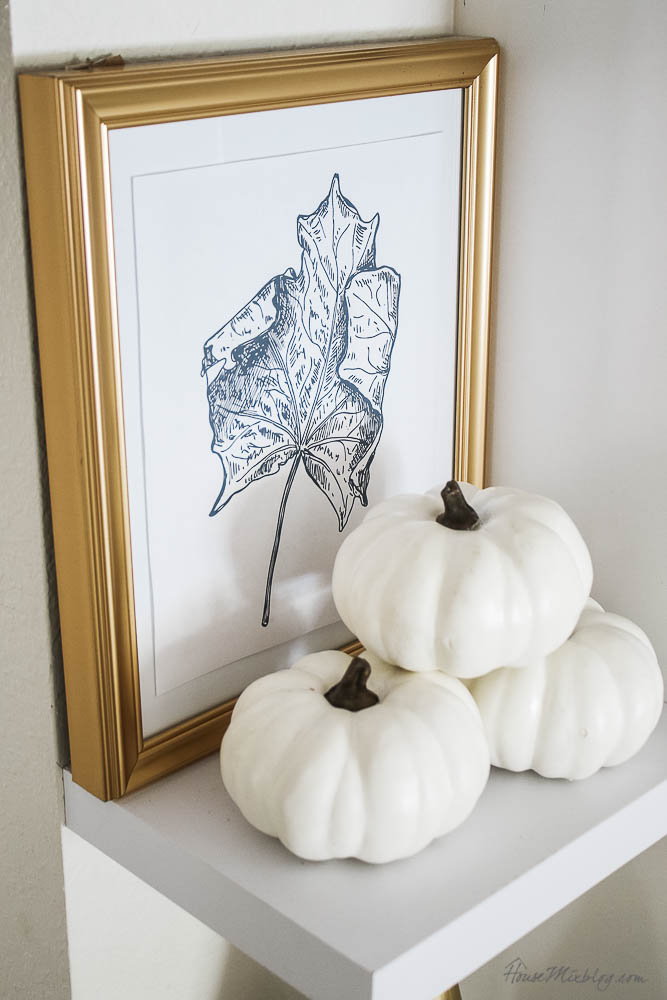 Cheap fall decor ideas - fall leaf printable - Thanksgiving scripture grateful thankful printable - fall kitchen styling