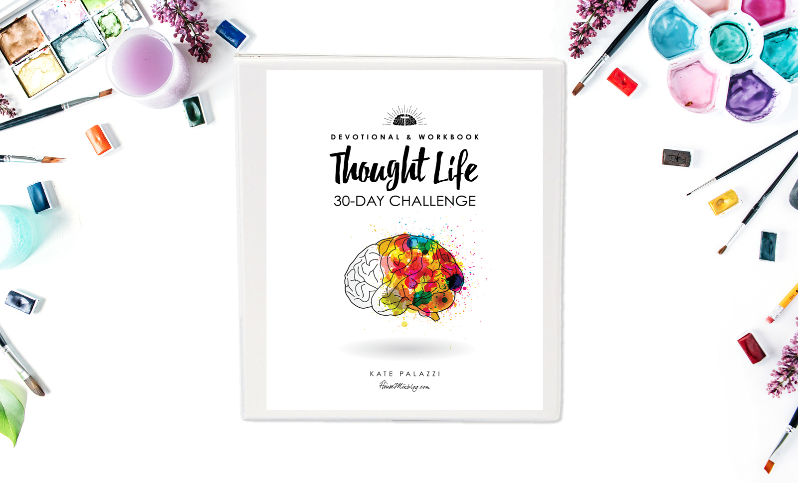 Thought life 30 day challenge - cover horizontal