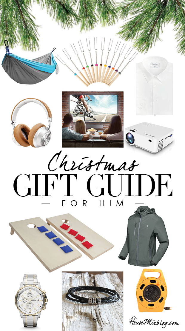 Christmas gift guide for him - presents for dad, husband, boyfriend, teens - affordable gift guide