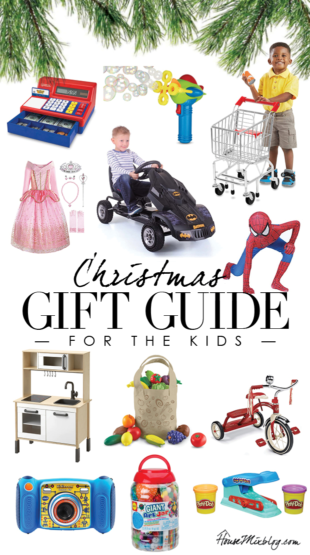 Christmas gift guide for kids - inexpensive cheap presents ideas for boys and girls - classic toys that everyone will love and play with for years - affordable gift guide