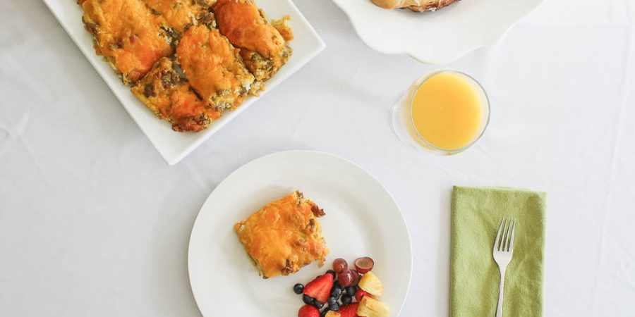 Best, simple breakfast casserole recipe ever-1