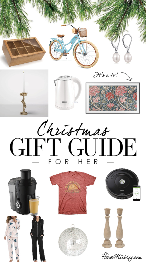 Christmas gift guide for her - mom, girlfriend, best friend - affordable holiday gift guide