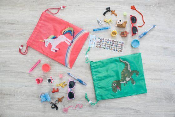 Fun gift bags for kids in need