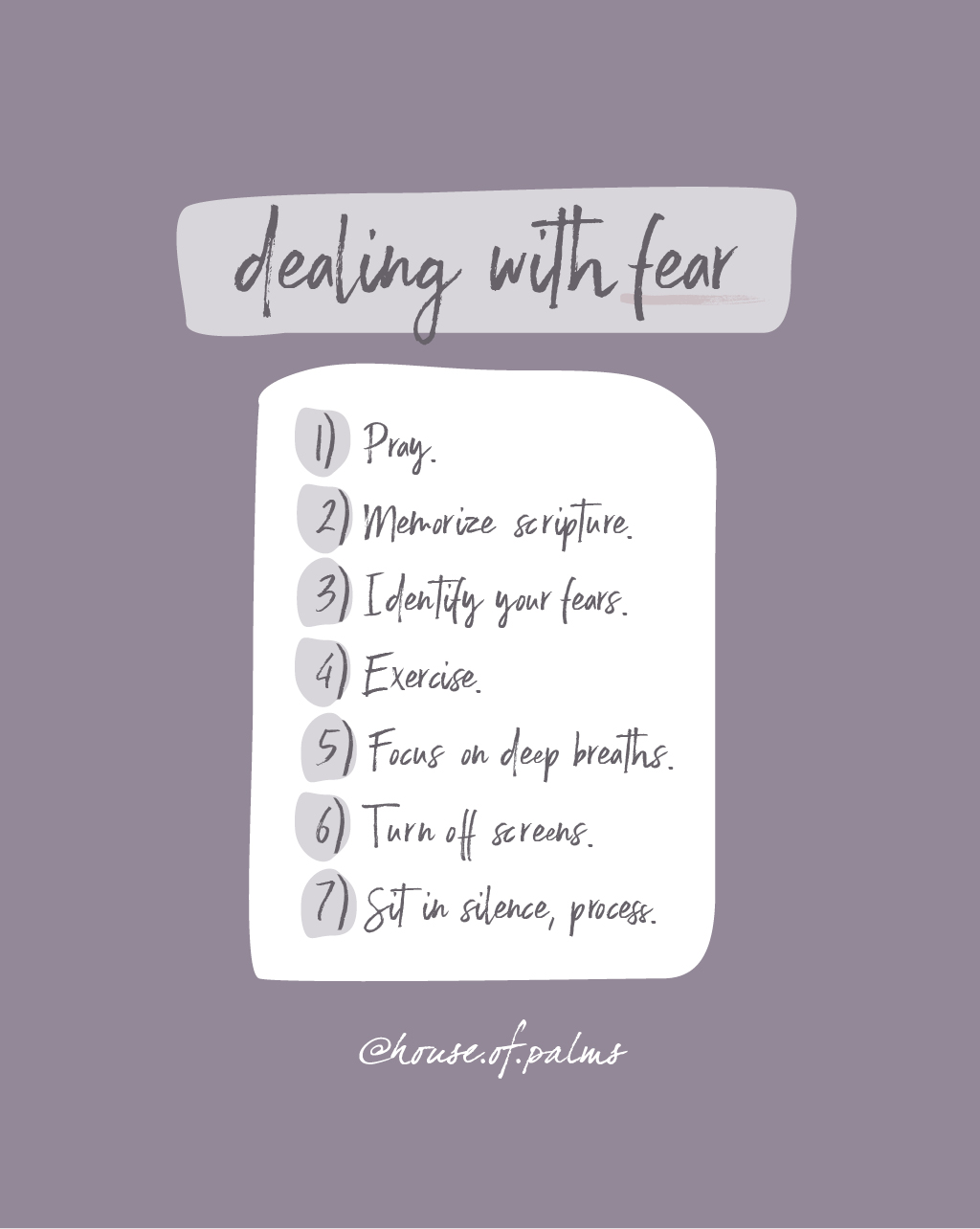 Overcoming fear - practical things to do when you have anxiety