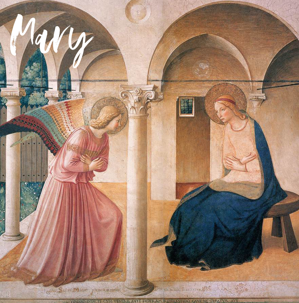 biblical stories of blessing - mary