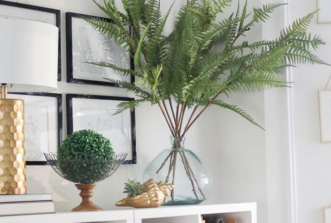 8 great faux plants and stems- fern branches