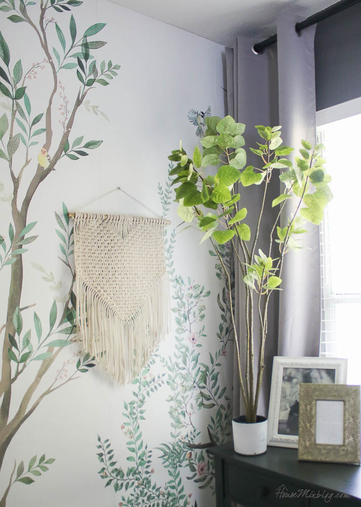 8 great faux plants and stems - tall thin potted plant