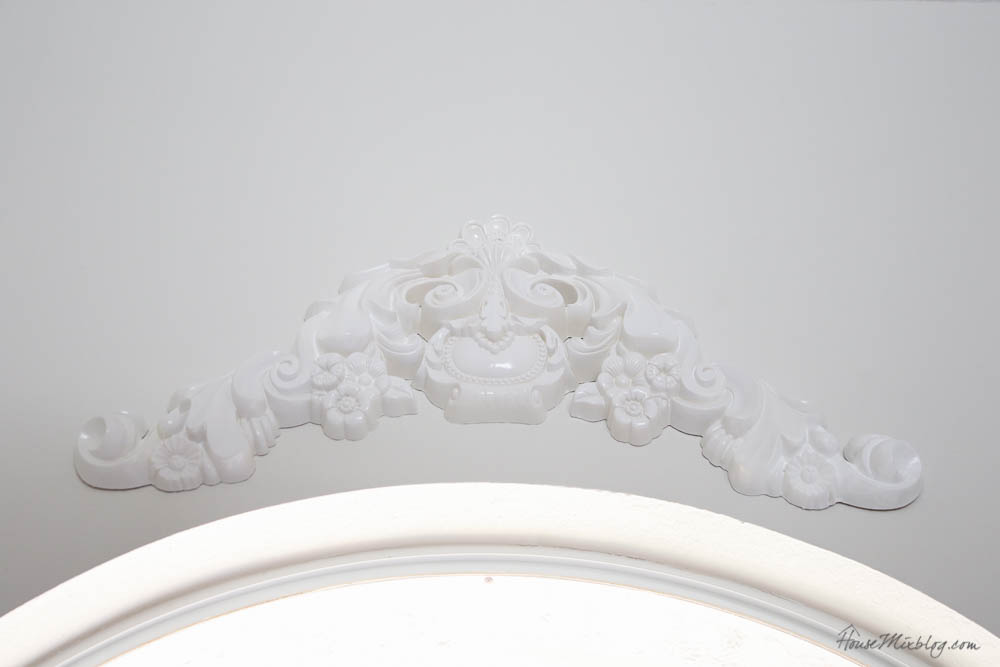 Cheap moulding - DIY - trim and ornate moulding - round light fixture moulding - ceiling medallion -1