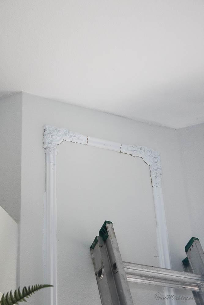 How to do easy trim moulding with no power tools