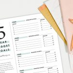 5 year budget plan printable