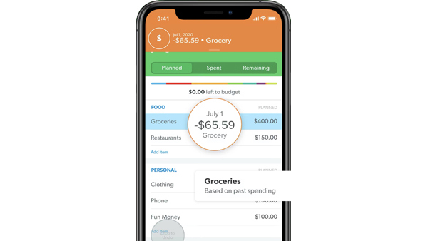 Every Dollar Ramsey budgeting app
