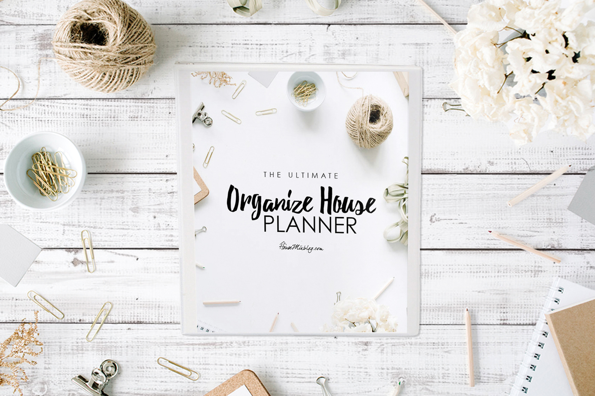 Ultimate organize house planner printables