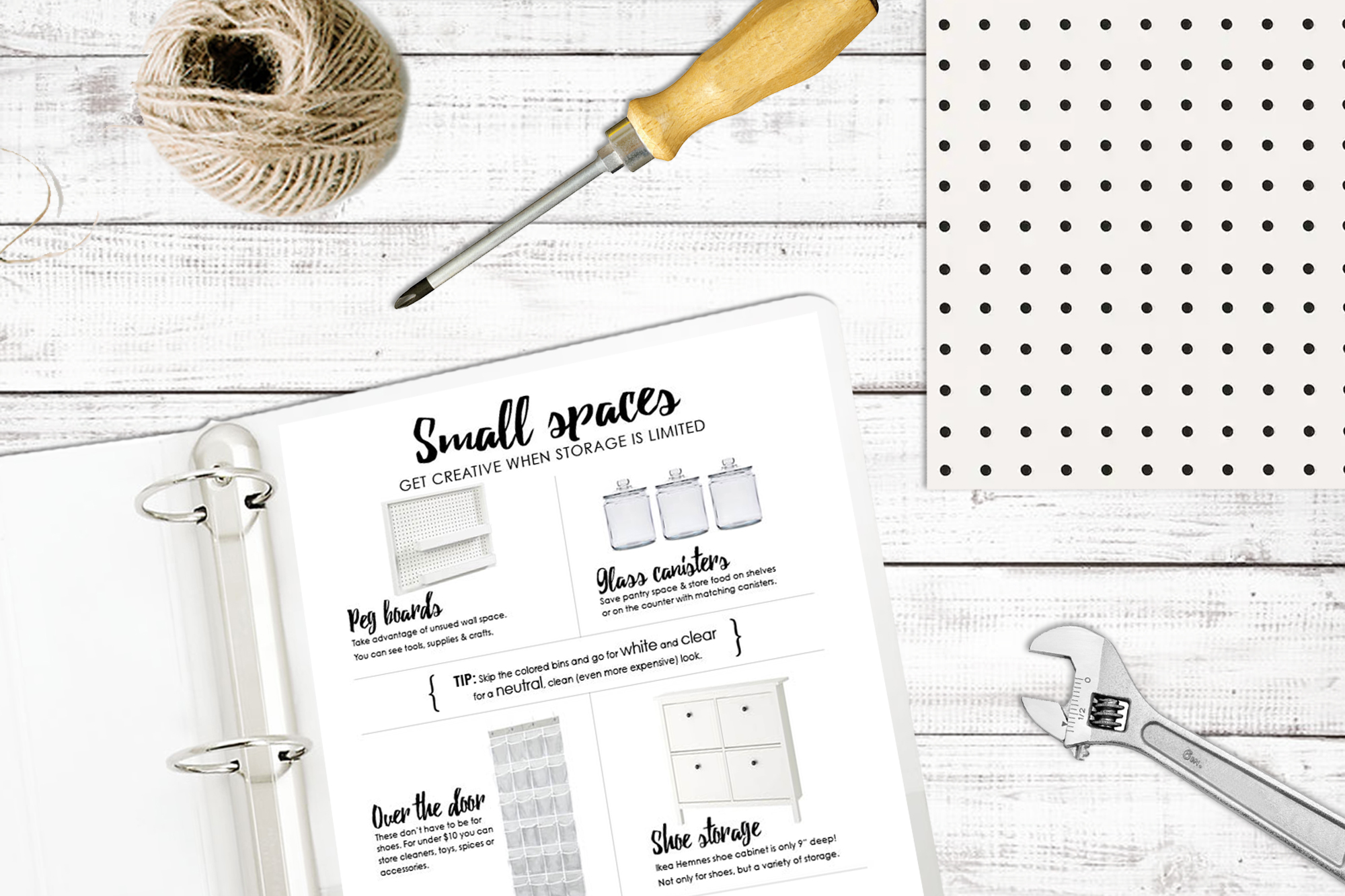 Ultimate organize house planner printables organizing small spaces