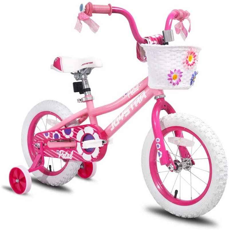 4 year old girl present ideas - bike with training wheels