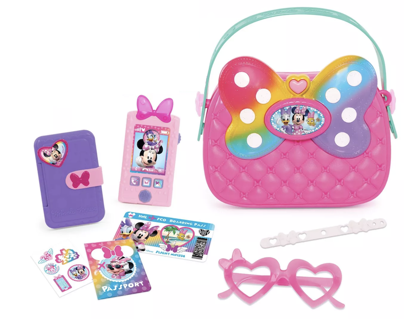 4 year old present ideas minnie mouse bag purse with accessories