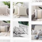 Affordable boho pillow roundup