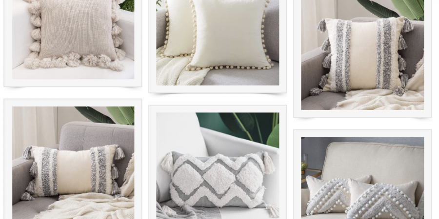 Affordable boho pillows