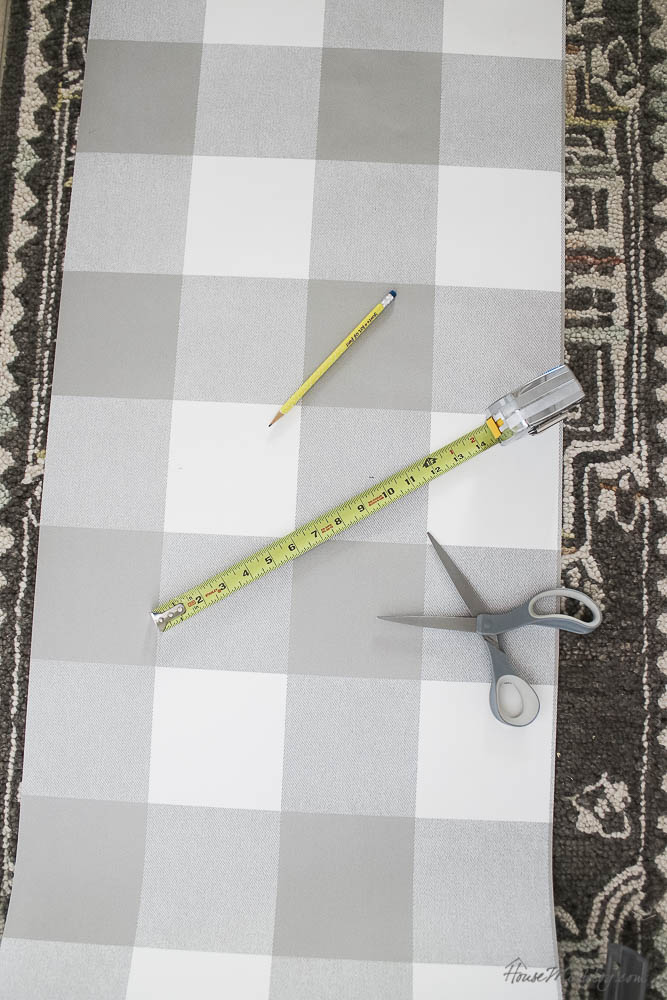 How to wallpaper with peel and stick wallpaper