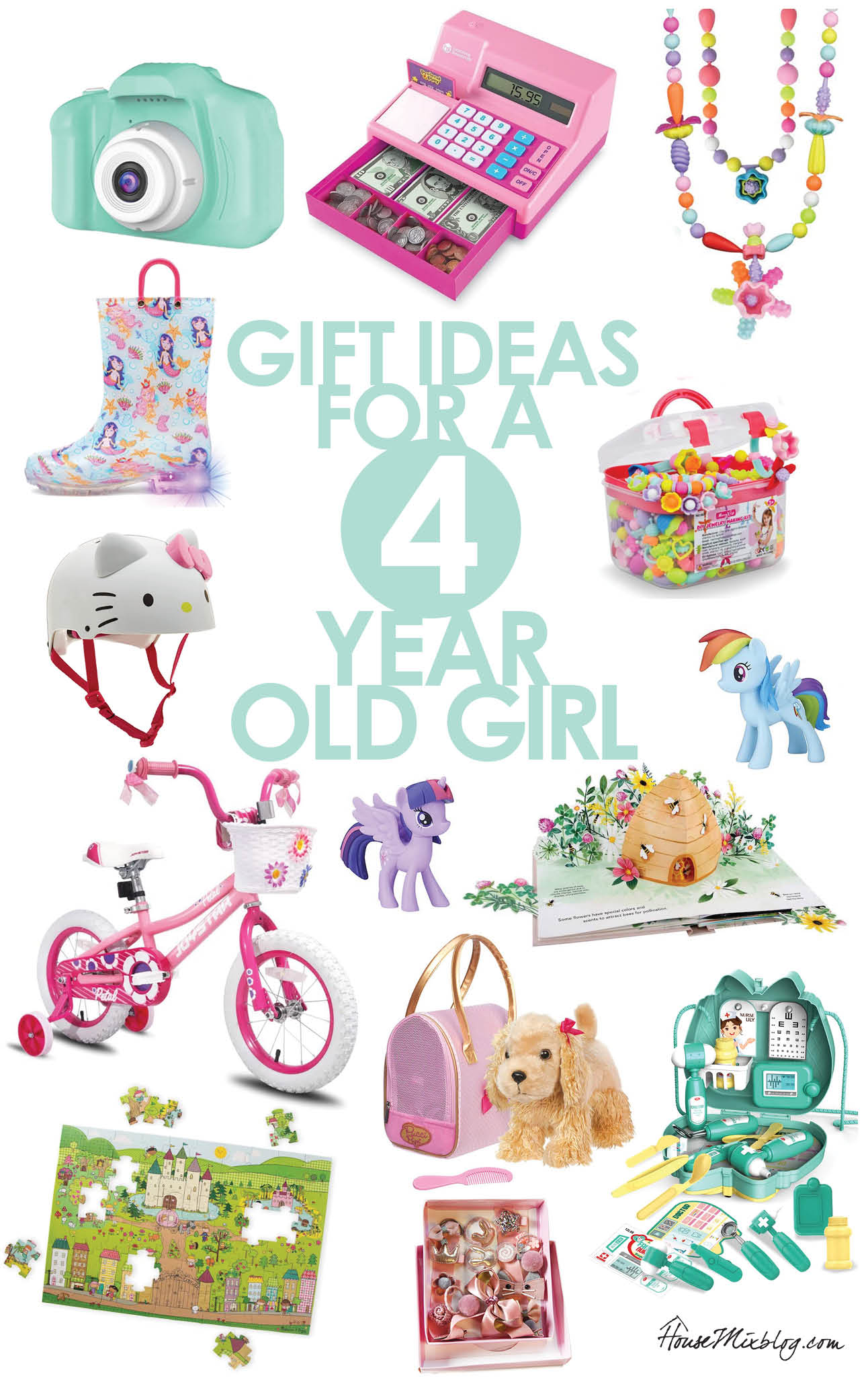 Toddler toys - Present or gift ideas for a 4 year old girl