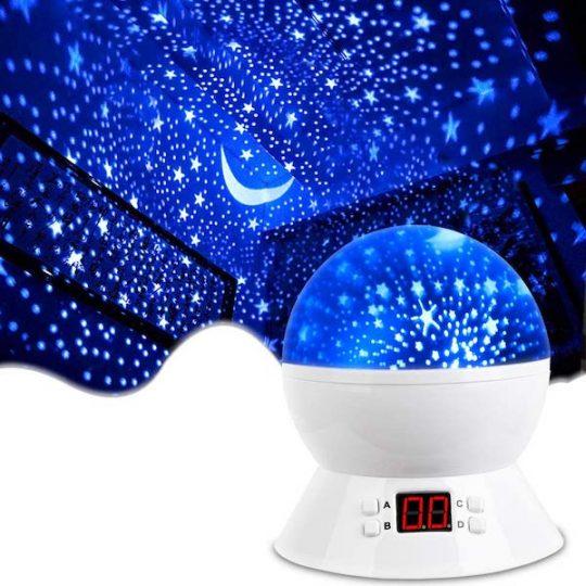 Constellation nightlight projector