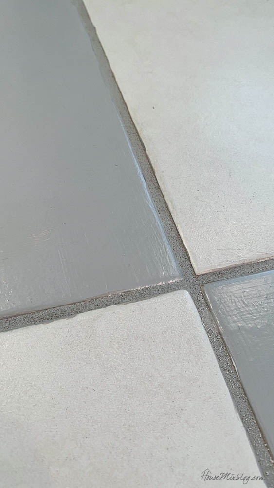 Painted tile 6 month update - how long does painted tile last